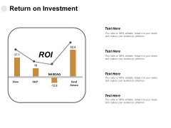 Return On Investment Marketing Ppt PowerPoint Presentation Pictures Design Templates