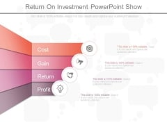 Return On Investment Powerpoint Show