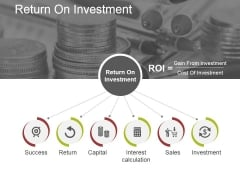 Return On Investment Ppt PowerPoint Presentation File Picture