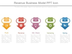 Revenue Business Model Ppt Icon