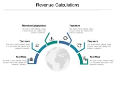 Revenue Calculations Ppt PowerPoint Presentation Infographics Infographic Template