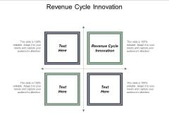 Revenue Cycle Innovation Ppt PowerPoint Presentation Inspiration Aids Cpb
