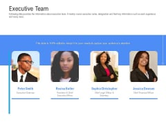 Revenue Cycle Management Deal Executive Team Ppt Icon Template PDF