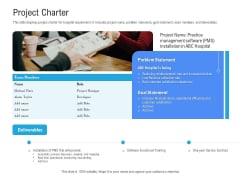 Revenue Cycle Management Deal Project Charter Ppt Styles Samples PDF