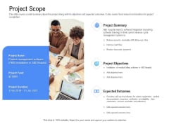 Revenue Cycle Management Deal Project Scope Ppt Model Visuals PDF
