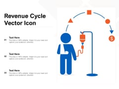 Revenue Cycle Vector Icon Ppt PowerPoint Presentation Slides Designs Download