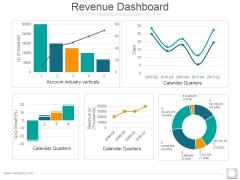 Revenue Dashboard Ppt PowerPoint Presentation Professional Microsoft