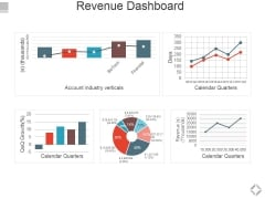 Revenue Dashboard Ppt PowerPoint Presentation Summary Brochure