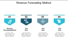 Revenue Forecasting Method Ppt PowerPoint Presentation Layouts Slideshow Cpb