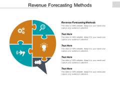 Revenue Forecasting Methods Ppt PowerPoint Presentation Gallery Professional Cpb