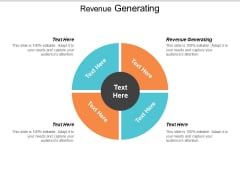 Revenue Generating Ppt Powerpoint Presentation Layouts Infographics