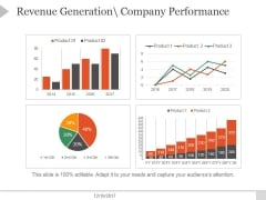 Revenue Generation Company Performance Ppt PowerPoint Presentation Icon