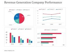 Revenue Generation Company Performance Ppt Powerpoint Presentation Outline Gridlines