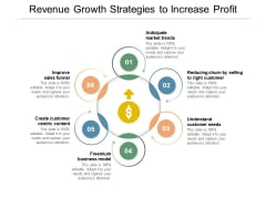Revenue Growth Strategies To Increase Profit Ppt PowerPoint Presentation Gallery Outline