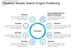 Revenue Models Search Engine Positioning Ppt PowerPoint Presentation File Example Introduction Cpb