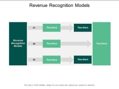 Revenue Recognition Models Ppt PowerPoint Presentation Inspiration Summary Cpb