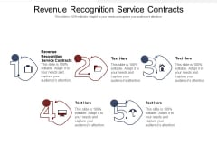 Revenue Recognition Service Contracts Ppt PowerPoint Presentation File Files Cpb Pdf
