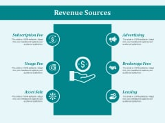Revenue Sources Ppt PowerPoint Presentation Show Slides