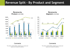 Revenue Split By Product And Segment Ppt PowerPoint Presentation Gallery Example