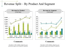 Revenue Split By Product And Segment Ppt PowerPoint Presentation Model Format Ideas