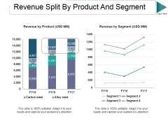 Revenue Split By Product And Segment Ppt PowerPoint Presentation Outline Graphic Images
