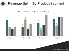 Revenue Split By Product Segment Template 1 Ppt PowerPoint Presentation Summary Example