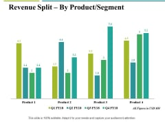 Revenue Split By Product Segment Template 2 Ppt PowerPoint Presentation Gallery Example File