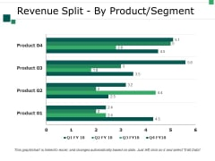 Revenue Split By Product Segment Template 2 Ppt PowerPoint Presentation Summary Good