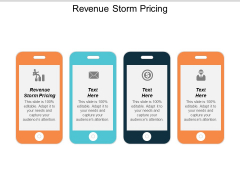 Revenue Storm Pricing Ppt Powerpoint Presentation Layouts Graphics
