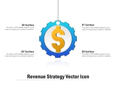 Revenue Strategy Vector Icon Ppt PowerPoint Presentation Pictures Diagrams