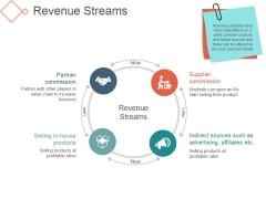 Revenue Streams Template 2 Ppt PowerPoint Presentation Picture