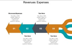 Revenues Expenses Ppt PowerPoint Presentation Show Template Cpb