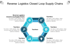 Reverse Logistics Closed Loop Supply Chains Ppt PowerPoint Presentation Professional Background Images Cpb