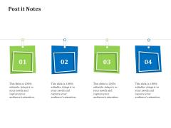 Reverse Logistics Management Post It Notes Ppt Styles Influencers PDF
