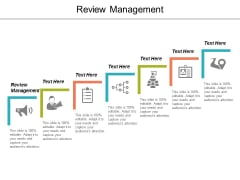 Review Management Ppt Powerpoint Presentation Professional Samples Cpb