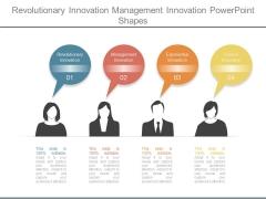 Revolutionary Innovation Management Innovation Powerpoint Shapes