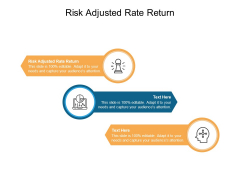 Risk Adjusted Rate Return Ppt PowerPoint Presentation Professional Introduction Cpb