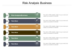 Risk Analysis Business Ppt PowerPoint Presentation Icon Deck