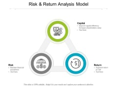 Risk And Return Analysis Model Ppt PowerPoint Presentation Model Guide