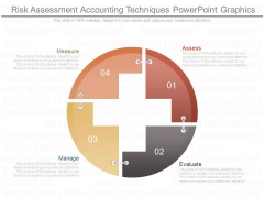 Risk Assessment Accounting Techniques Powerpoint Graphics