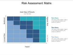 Risk Assessment Matrix Ppt PowerPoint Presentation Infographic Template Objects