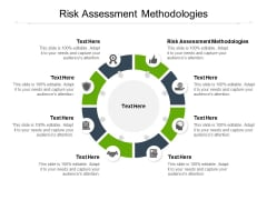 Risk Assessment Methodologies Ppt PowerPoint Presentation Show Icons Cpb