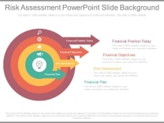 Risk Assessment Powerpoint Slide Background