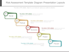 Risk Assessment Template Diagram Presentation Layouts