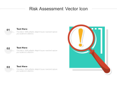 Risk Assessment Vector Icon Ppt PowerPoint Presentation Professional Format PDF