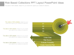 Risk Based Collections Ppt Layout Powerpoint Ideas