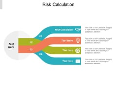 Risk Calculation Ppt Powerpoint Presentation Show Graphics Design Cpb