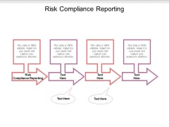 Risk Compliance Reporting Ppt PowerPoint Presentation Model Microsoft Cpb Pdf