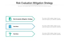 Risk Evaluation Mitigation Strategy Ppt PowerPoint Presentation Outline Example File Cpb Pdf