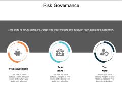 Risk Governance Ppt PowerPoint Presentation Infographics Demonstration Cpb